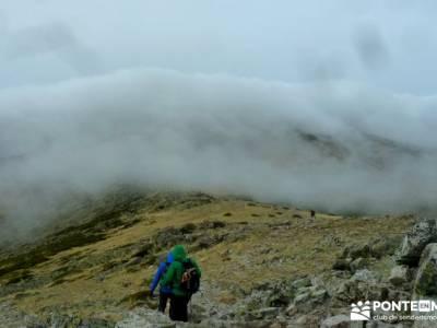Sur Maliciosa - El Peñotillo; rutas y mapas;montañismo deporte en madrid